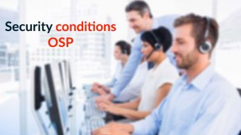 What are the Security Conditions for OSP?