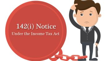 142(I) Notice Under the Income Tax Act