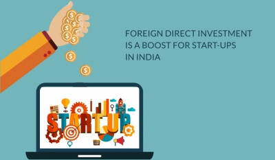 Foreign Direct Investment is a boost for Start-Ups in India