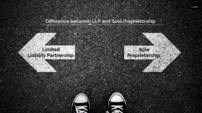 Difference between LLP and Sole Proprietorship
