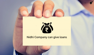 Nidhi Company can give loans