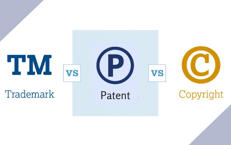 Difference between Trademark, Copyright and Patent with Example