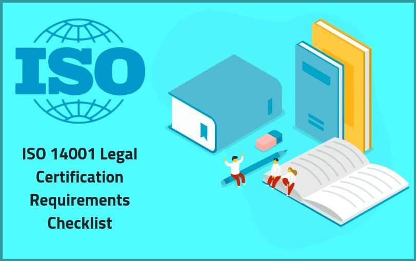 ISO 14001 Legal Certification Requirements Checklist