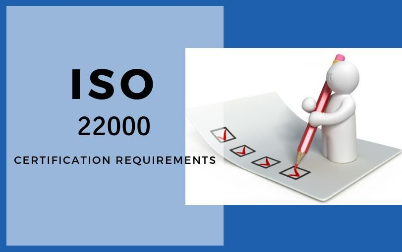ISO 22000 Certification Requirements Checklist