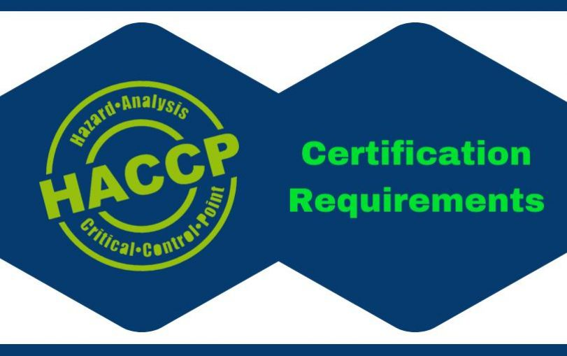 HACCP Certification Requirements in India
