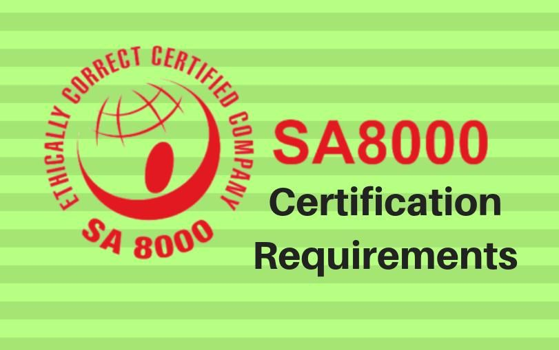 SA8000 Certification Requirements