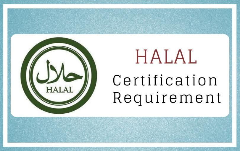HALAL Certification Requirements in India