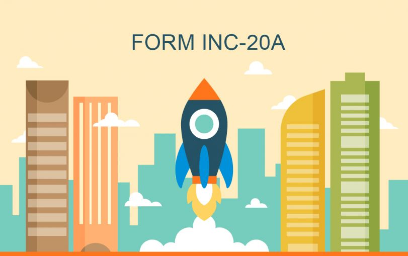 Form INC 20A - Declaration of Commencement of Business