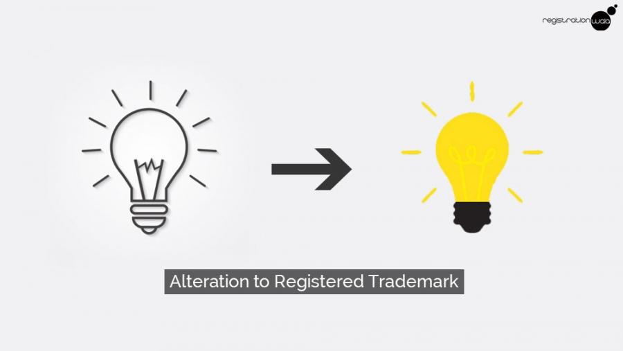 Alteration to Registered Trademark