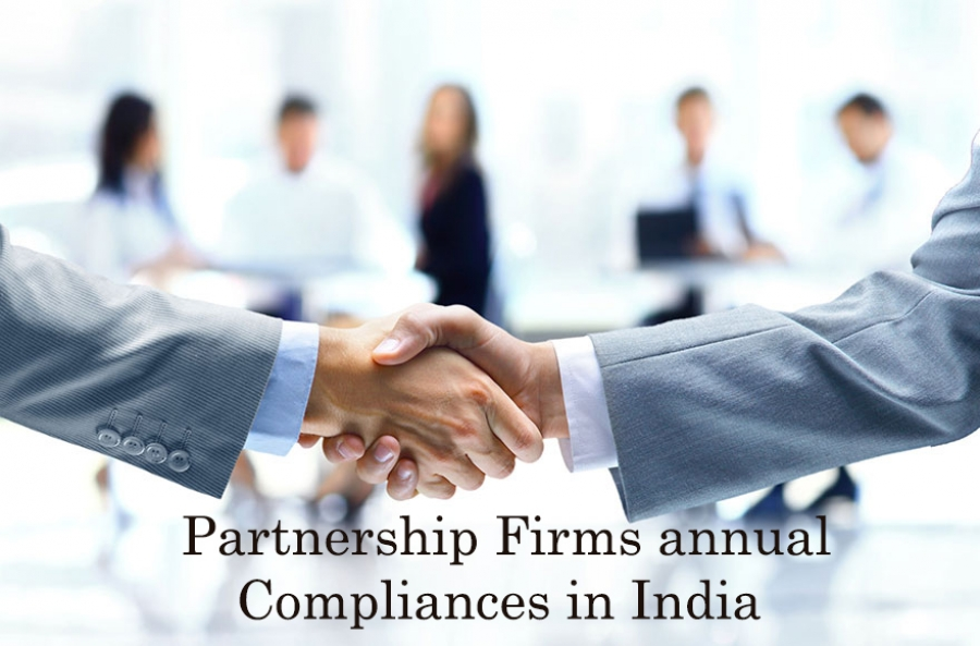 Partnership Firms Annual Compliances in India