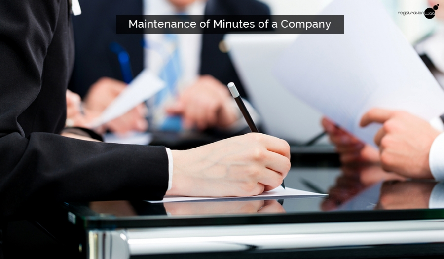 Maintenance of Minutes of a Company