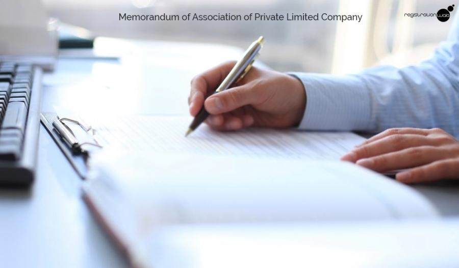 Memorandum of Association of Private Limited Company