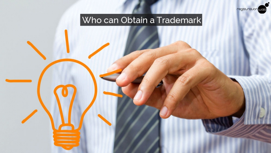 Who can obtain a trademark