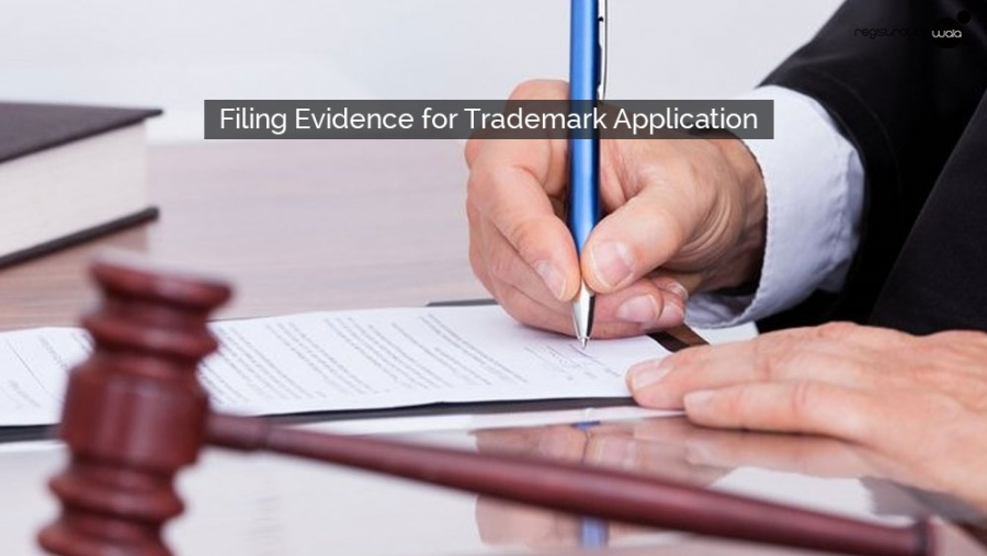 Filing Evidence for Trademark Application