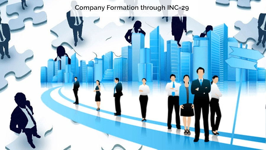 Company Formation through INC-29